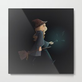 witchy emma Metal Print