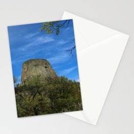 Devils Tower View Stationery Cards