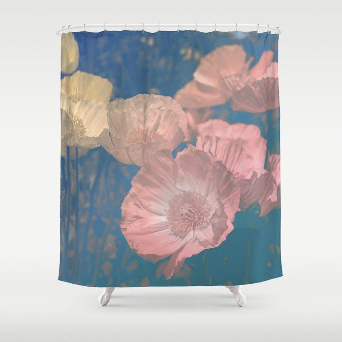 Capricious Tulips IV Shower Curtain