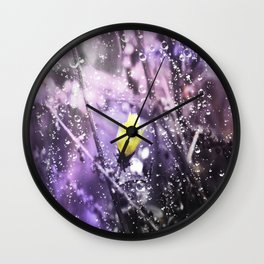 Her Beauty Fades Wall Clock