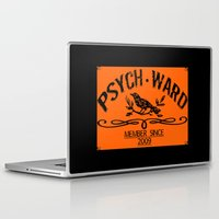 psych Laptop & iPad Skins featuring Psych Ward Member by ImpART by Torg