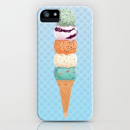 Summer Stack iPhone Case