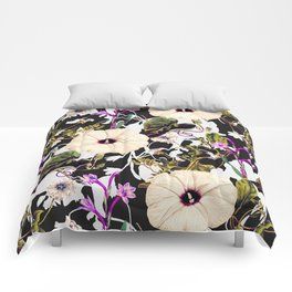 Flowery abstract garden Comforters