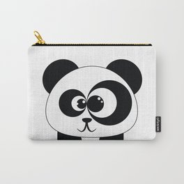 Cute Panda Illustration Carry-All Pouch