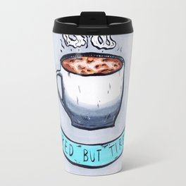 Wired but tired Travel Mug