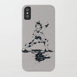 Splaaash Series - Lan Lan Ink iPhone Case