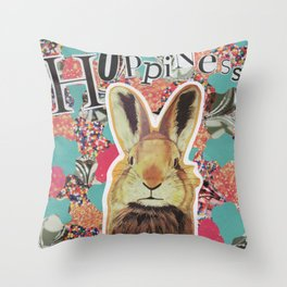 Hoppiness. Throw Pillow