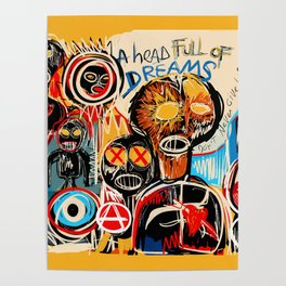 Head full of dreams Poster