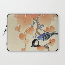 The bird and the leaves Laptop Sleeve