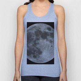 Moon with Bird Unisex Tank Top