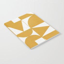 My Favorite Geometric Patterns No.13 - Mustard Yellow Notebook