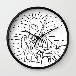 pieta Wall Clock