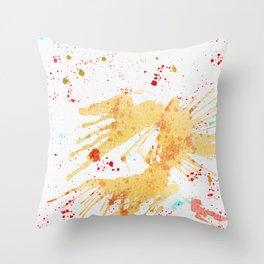 Falling Angel Throw Pillow