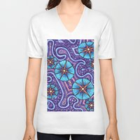 celestial V-neck T-shirts featuring Celestial by ErinNNelson