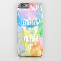 DO NOT WORRY iPhone 6s Slim Case