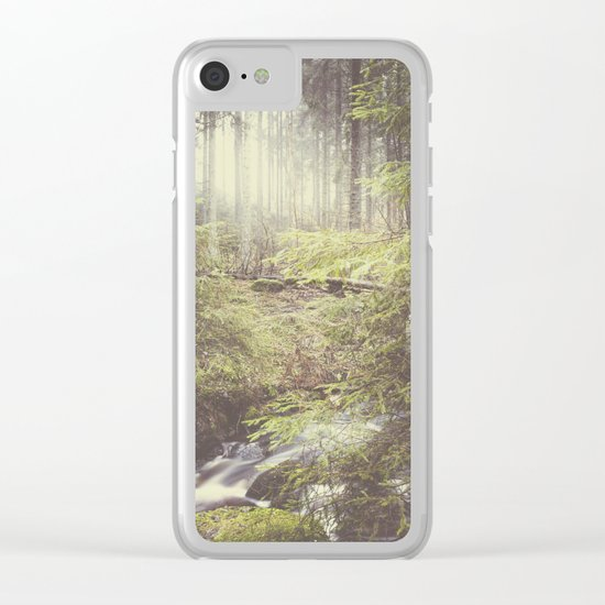 The paths we wander III Clear iPhone Case