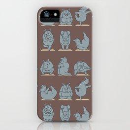 Rhino Yoga iPhone Case