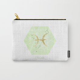 Pisces - Zodiac Sign Carry-All Pouch