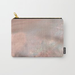 Mother of pearl in rose gold Carry-All Pouch