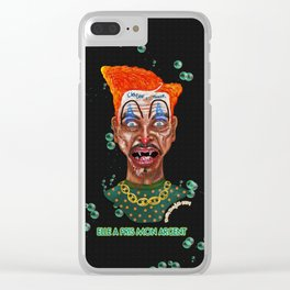 She Took Money From a Clown Clear iPhone Case