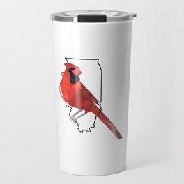 Illinois – Northern Cardinal Travel Mug