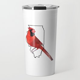 Illinois – Northern Cardinal Travel Mug