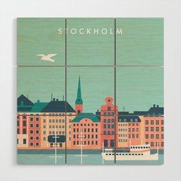 Stockholm Wood Wall Art
