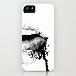 Angelina Jolie Lips iPhone Case