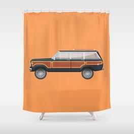 Grand Wagoneer Shower Curtain