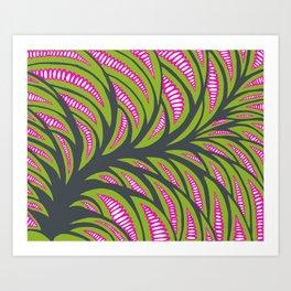 Little pink corns  Art Print
