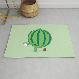 The Making of Strawberry Rug