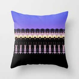 Sunset in Indonesia Throw Pillow