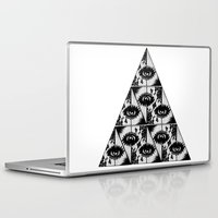 illuminati Laptop & iPad Skins featuring Triangle Illuminati by GRLLO