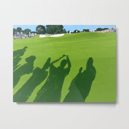 2013 Masters the 9th hole at the Augusta National Golf Club Metal Print