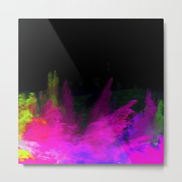 Glowing abstract 5 Metal Print