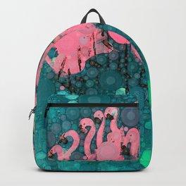 :: Flamingos Among Us :: Backpack