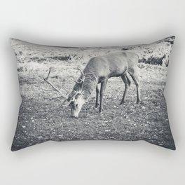 Deer Feed Rectangular Pillow