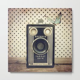 Vintage Camera Love: Kodak Brownie Target Six-16! Metal Print