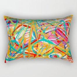 My Soul Travels Rectangular Pillow