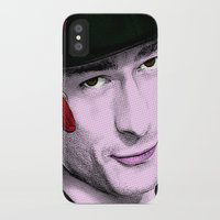 chad wys iPhone & iPod Cases featuring Scream Queens - Chad Radwell by Binge Designs Homeware