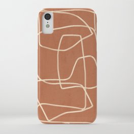 Abstract line art 22 iPhone Case