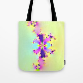 Frac Flower Tote Bag