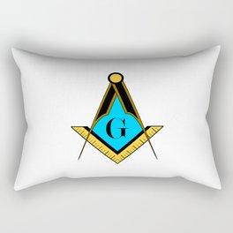 freemason symbol Rectangular Pillow