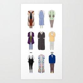 Dorothy Zbornak outfits, with bonus Art Print