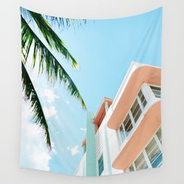 Miami Fresh Summer Day Wall Tapestry