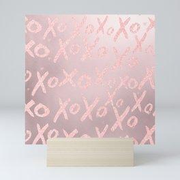 Blush LOVE - XOXO - Mini Art Print