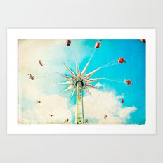 Spink Coney Island Carnival  Art Print