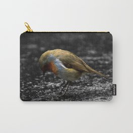 Sad Robin Carry-All Pouch