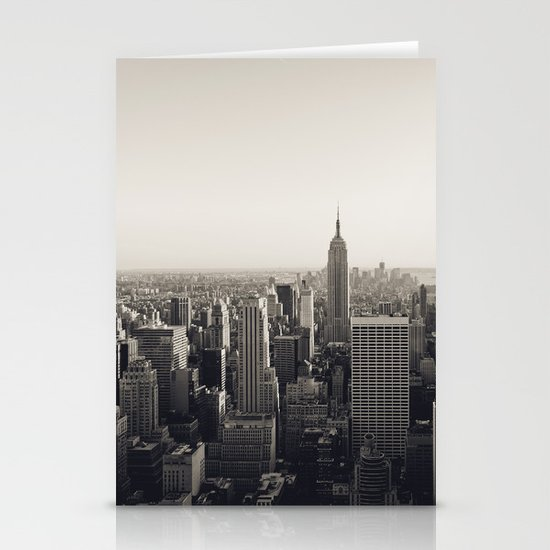 another Empire State Building shot Stationery Cards