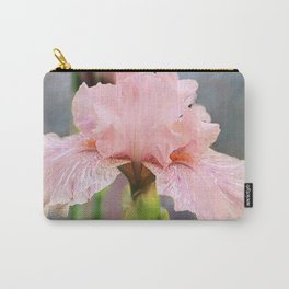 Lovely Pink Iris Carry-All Pouch